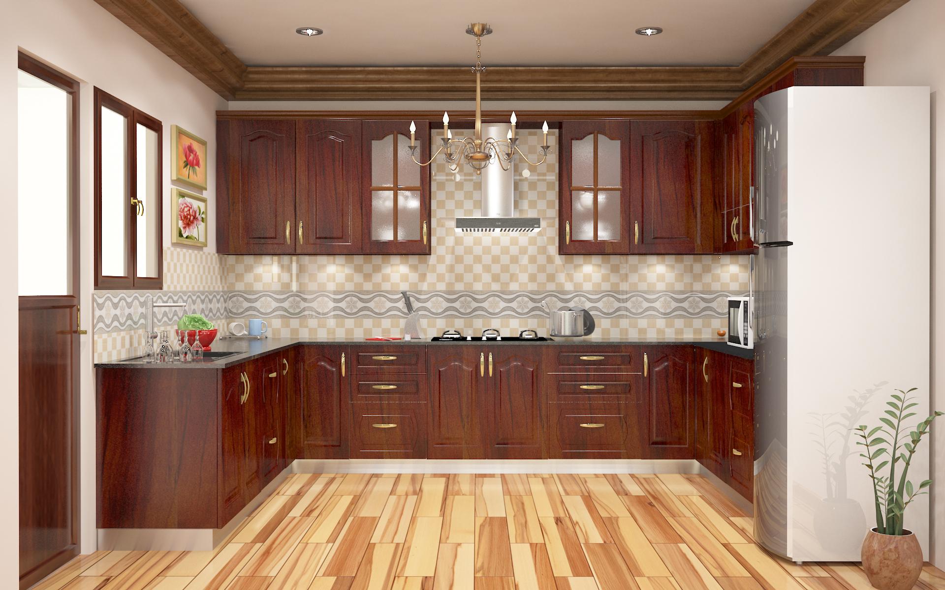 indian modern modular kitchen
