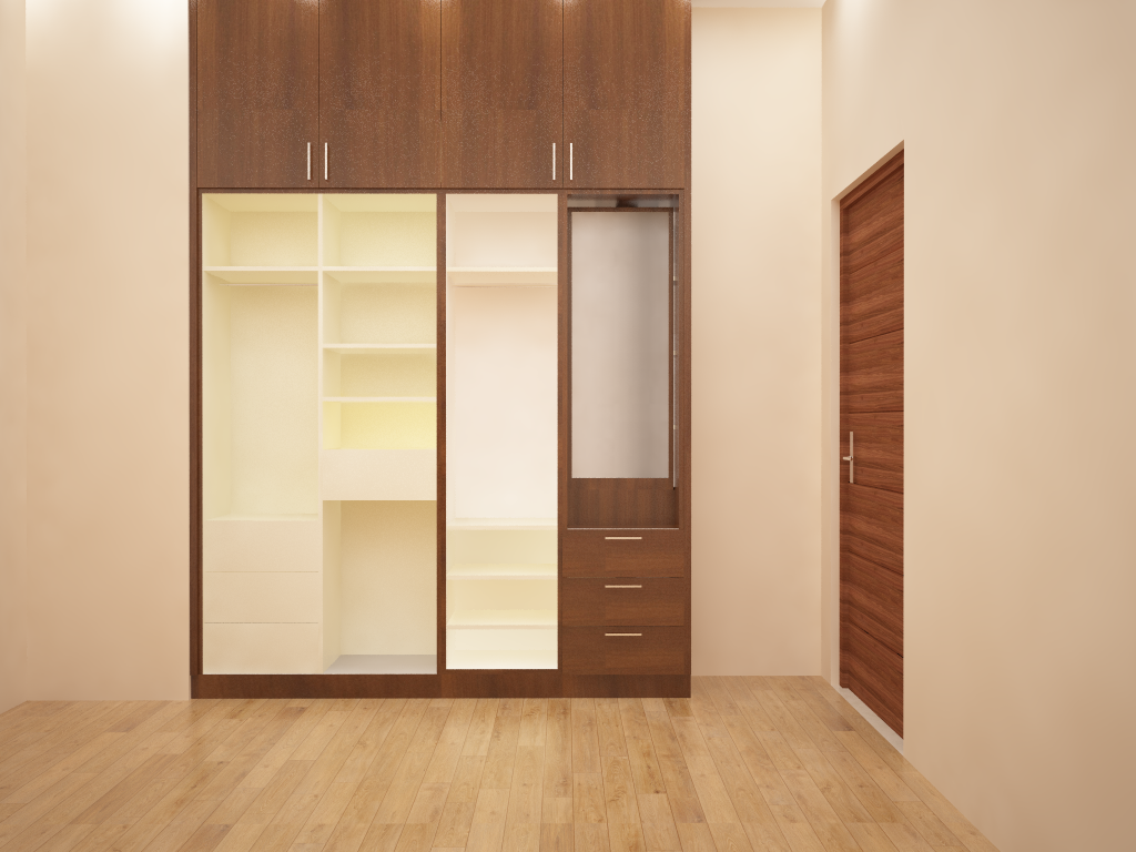Sliding Door wardrobe Channels Designer in bangalore