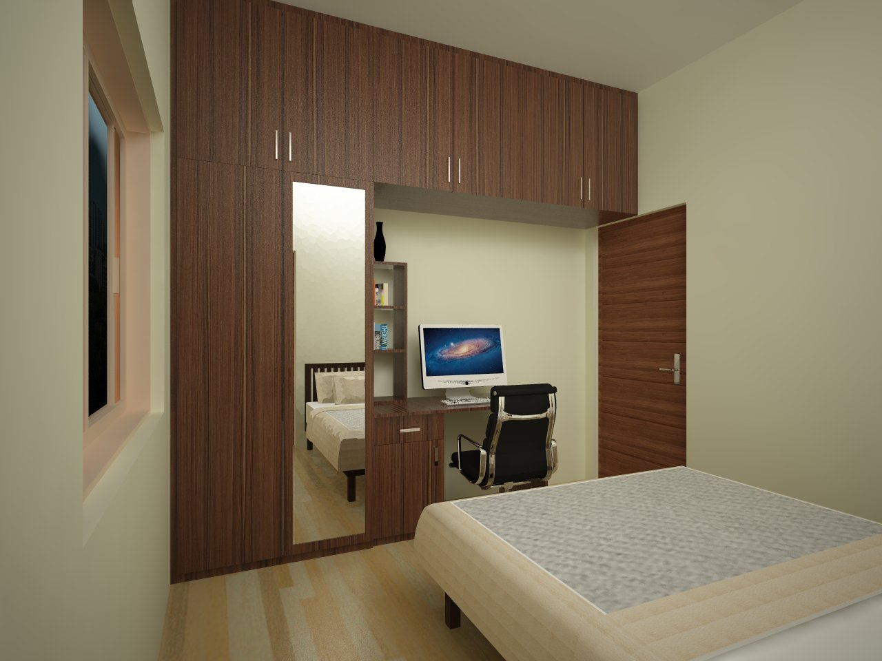Sliding Door wardrobe designs Catalogue by best interior designer in bangalore