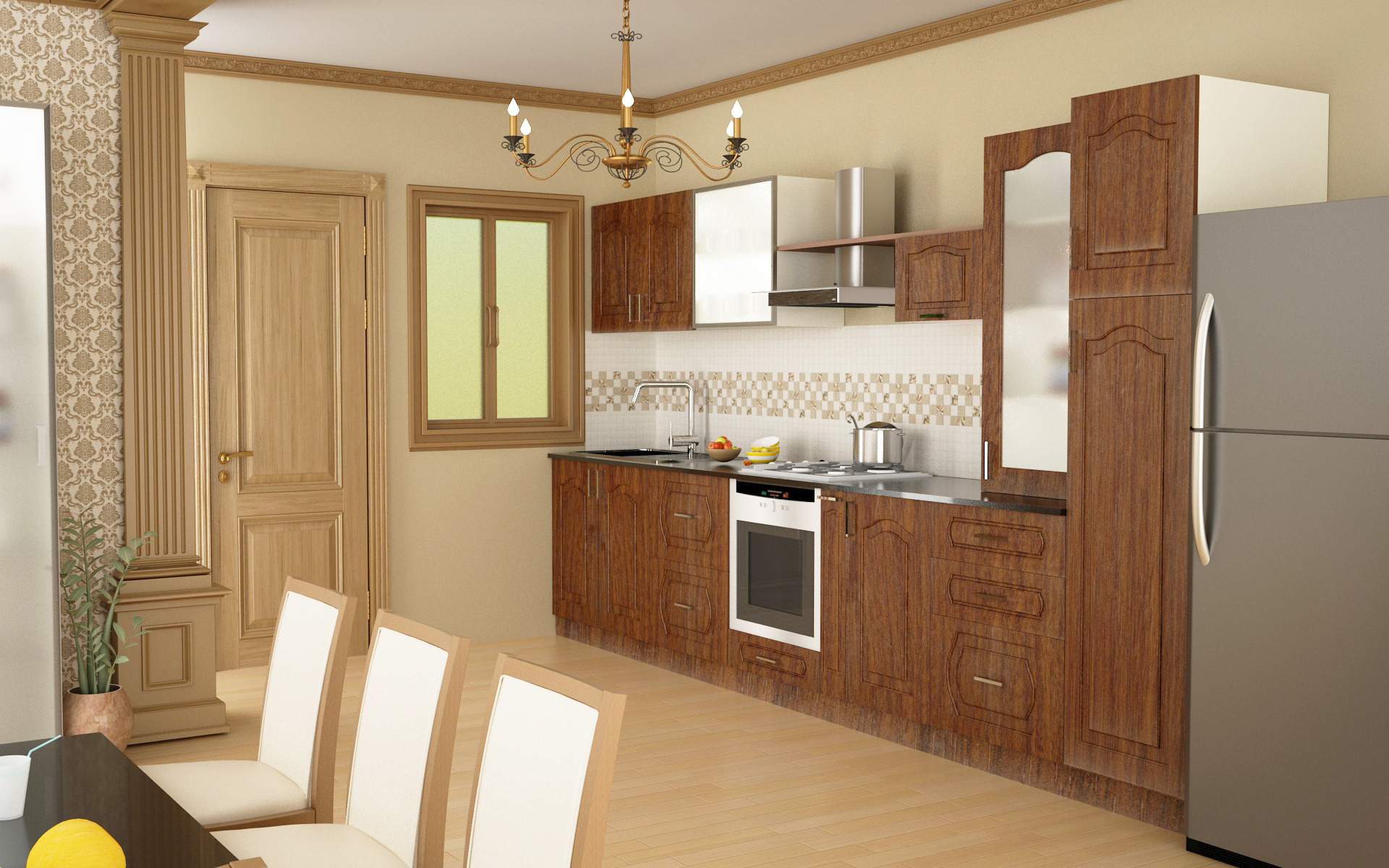 small interior kitchen manufacturer in Bangalore