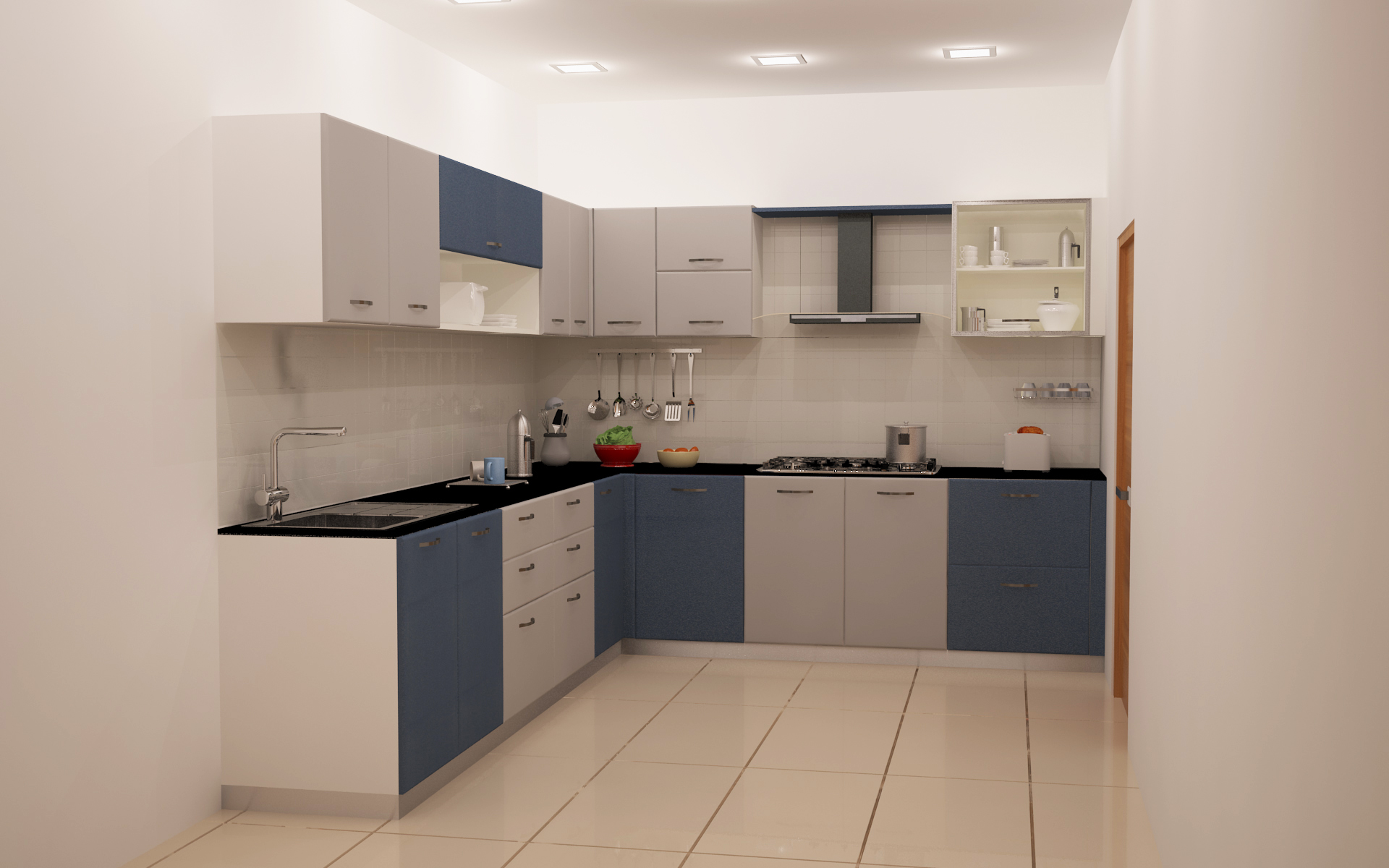 New Home Kitchen Designs