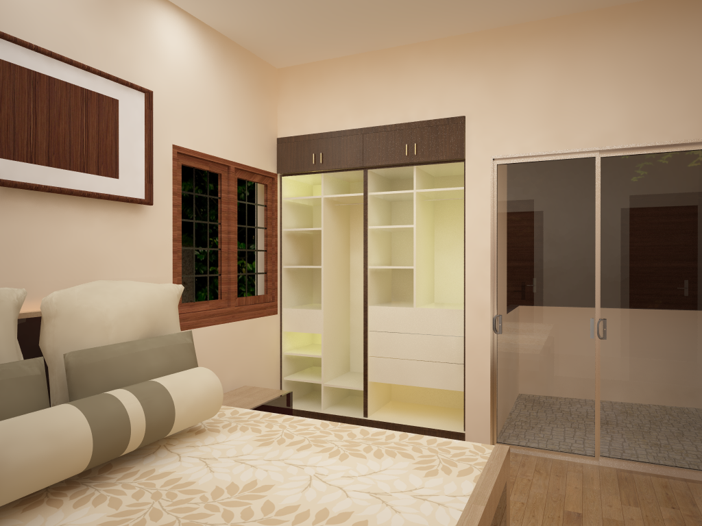 Bedroom & Wardrobe Designs by Top Interiors Design Company Bangalore